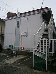 京都府京都市山科区日ノ岡堤谷町の賃貸アパートの外観