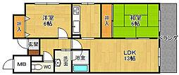 メルベーユ西宮2[2階]の外観