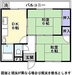 伊藤マンション2[2階]の間取り