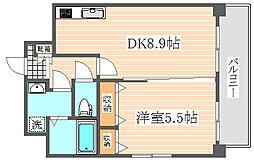 コンフォール博多駅南[11階]の間取り