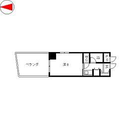 ランドハウスチクサステーション[3階]の間取り