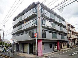 大阪府池田市城南2丁目の賃貸マンションの外観