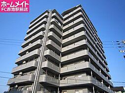 愛知県日進市栄1丁目の賃貸マンションの外観