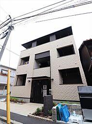 大阪府吹田市朝日町の賃貸アパートの外観
