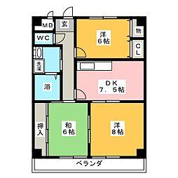 HOUSE松本[2階]の間取り