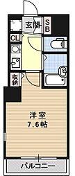 サンヴェール桂川東[413号室号室]の間取り