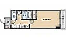 京都烏丸保粋ビル[511号室号室]の間取り