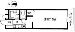 セティオ 1番館[3階]の間取り