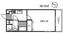 ビエント南魚崎[1階]の間取り