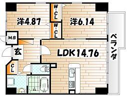 ピュアライフ金田ビル[6階]の間取り