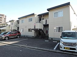 福岡県北九州市若松区鴨生田4丁目の賃貸アパートの外観
