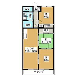 林マンション[1階]の間取り