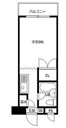 オガワビル[3階]の間取り