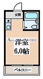 長栄寺ハイツ[3階]の間取り