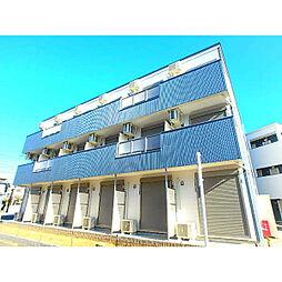 千葉県市川市田尻5丁目の賃貸アパートの外観