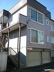 北海道札幌市西区八軒七条東2丁目の賃貸アパートの外観