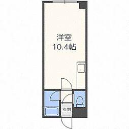 セントラルハイツI[1階]の間取り