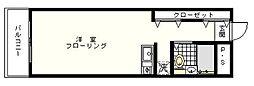 ウィズ妙蓮寺3rd[102号室]の間取り