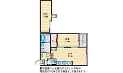 CoCo岩田[103号室]の間取り