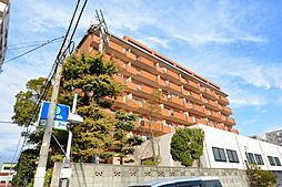 兵庫県西宮市津門大箇町の賃貸マンションの外観