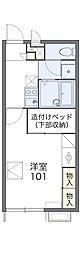 桜坂[111号室]の間取り