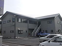 茨城県水戸市小吹町の賃貸アパートの外観
