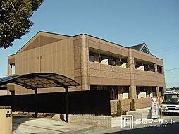 愛知県豊田市千足町4丁目の賃貸アパートの外観
