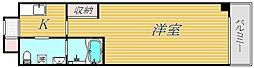 メインステージ二子多摩川[1階]の間取り