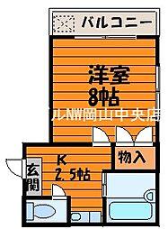 サンシャイン・ミヤケ[3階]の間取り