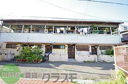大阪府東大阪市神田町の賃貸アパートの外観
