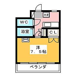 第8田畑ハイツ[1階]の間取り