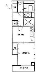 エスポワール戸塚[2階]の間取り