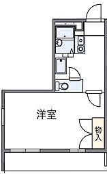 東京都府中市小柳町5丁目の賃貸マンションの間取り