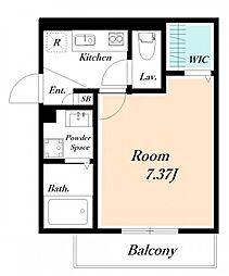 仮) 海楽2丁目D-ROOM計画[106号室]の間取り