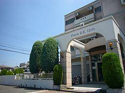 大阪府高槻市東五百住町1丁目の賃貸マンションの外観