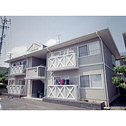 長野県長野市浅川西条の賃貸アパートの外観