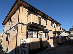 栃木県小山市大字羽川の賃貸アパートの外観
