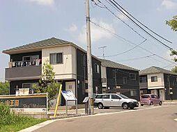 山口県宇部市大字上宇部の賃貸アパートの外観