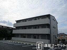 愛知県みよし市三好町弥栄の賃貸アパートの外観