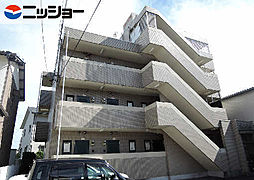 パレス三栄[3階]の外観