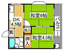 中野パーソナルマンション[4階]の間取り