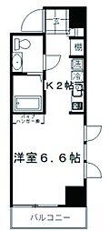 東京都墨田区立川1丁目の賃貸マンションの間取り