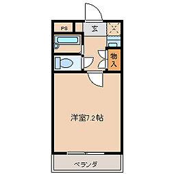 埼玉県久喜市本町3丁目の賃貸アパートの間取り