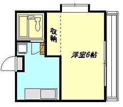 コスタ相模原[1階]の間取り