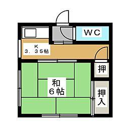 【敷金礼金0円!】緑コーポB