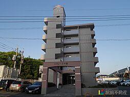 福岡県古賀市花見東6丁目の賃貸マンションの外観