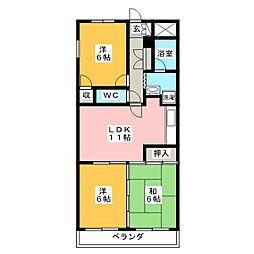 D.flat[4階]の間取り