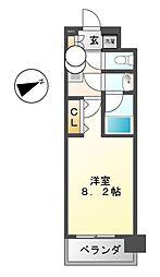 コンフォリア新栄[11階]の間取り