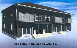 (仮)D-room三馬[202号室]の外観