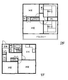 [一戸建] 茨城県日立市中成沢町2丁目 の賃貸【/】の間取り